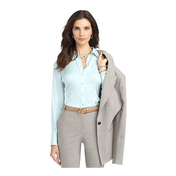 Stretch Silk Blouse - Brooks Brothers
